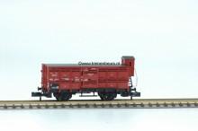 FL 8366-G Gesloten Gesloten goederenwagon open planken met remmershuis gebruikt goede staat
