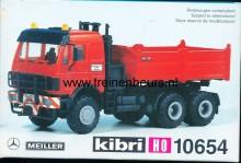 KIBRI 10654 U Mercedes vrachtwagen met kiepbak
