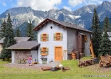 KIBRI 38810 H0 Berghaus Fextal in Grevasa
