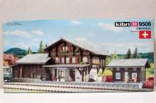 KIBRI 9506 Station Zwitserse stijl Uitloop