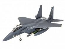 REVELL 03972 Vliegtuigen- Militair F-15E Strike Eagle & Bombs 1:144