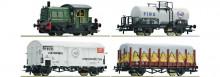 Roco 61429 NS Dieselloc SIK en drie goederenwagons NIEUW