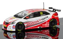 SCALEXTRIC 3783 BTCC HONDA CIVIC TYPE R GORDON SHEDDEN 2015