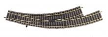 Fleischmann 6174-G WISSEL GEBOGEN 6142 L. goed gebruikt