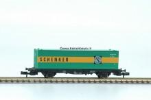FL 8245.1G Container Containerwagon 40ft SCHENKER gebruikt goede staat