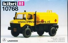 KIBRI 10768 U UNIMOG met tank