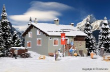KIBRI 38811 H0 Berggasthaus Steinbock in