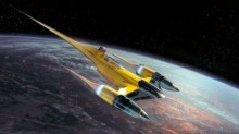 REVELL 63611 Star Wars Naboo Starfighter 1:110