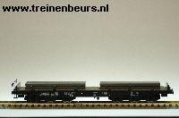 Roco 46551 NS Zwaarlast Sammmps 6-asset beladen met stalen knuppels NIEUW uitloop