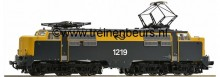 Roco 72674 NS E-lok Serie 1200 geel/grijs bedrijfsnummer 1219 NIEUW uitloop