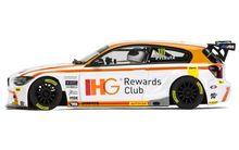 SCALEXTRIC 3784 BTCC BMW 125 ANDY PRIAULX 2015