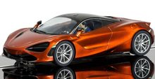 SCALEXTRIC 3895 MCLAREN 720S AZORES ORANGE