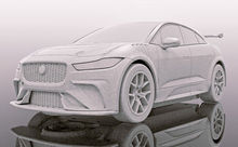 SCALEXTRIC 4064 JAGUAR I-PACE GROUP 44 HERITAGE LIVERY (7/19) *