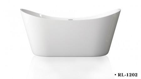Cada acril freestanding ovala JUNO 170x80 cm