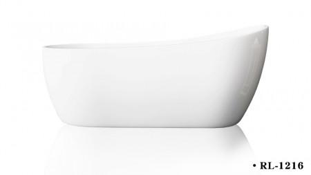 Cada acril freestanding ovala ATHENA 170x80 cm