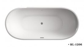 Cada acril freestanding ovala DIANA 150x75 cm