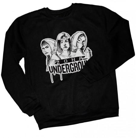 ZONA UNDERGROUND X ROSE - Sweatshirt