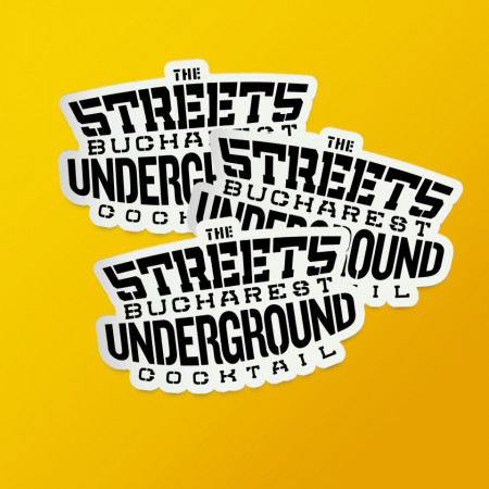 """Pack stickere """"The streets"""""""