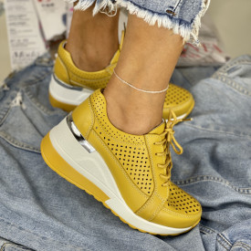 Pantofi Casual Somei Mustar