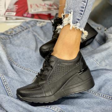 Pantofi Casual Somei Negri