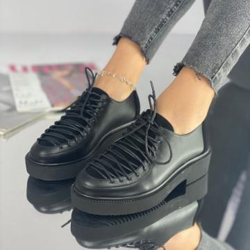 Pantofi Dama Casual Caelia Negri