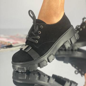 Pantofi Dama Casual Crix Negri