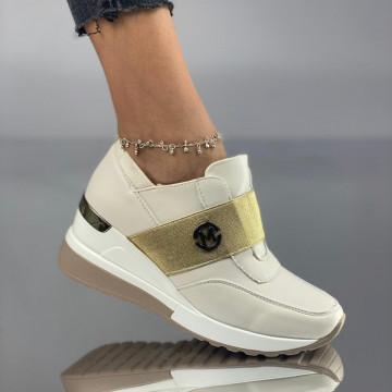 Pantofi Dama Casual Marka Bej