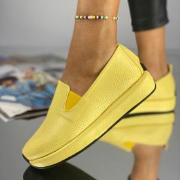 Pantofi Dama Casual Tatos Galbeni