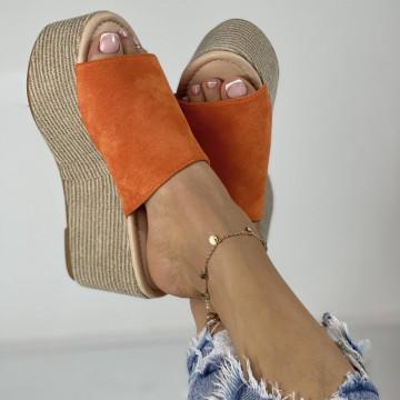 Papuci Crendo Oranj
