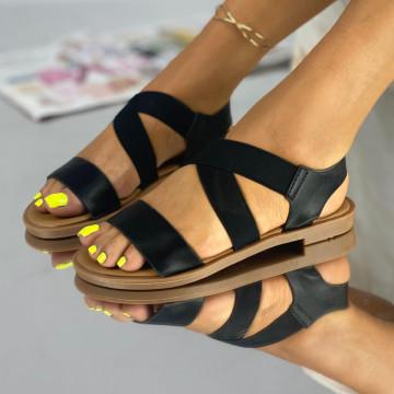Sandale Fara Toc Sonra Negre