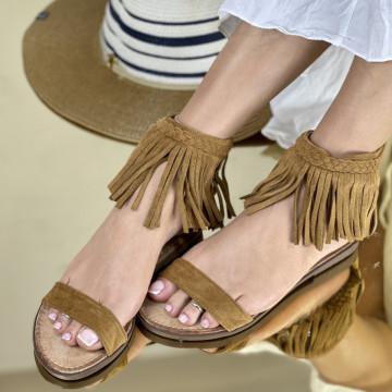 Sandale Iones Camel