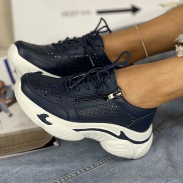Pantofi Casual Belancia Bleumarin
