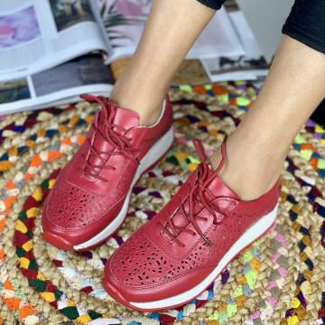 Pantofi Casual Samia Rosii