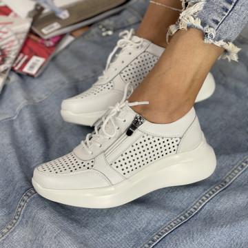 Pantofi Casual Sedra Albi