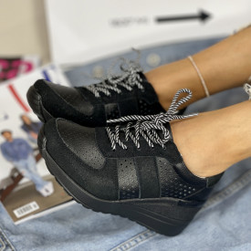 Pantofi Casual Simover Negri