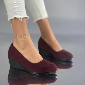 Pantofi cu Platforma Mamia Grena