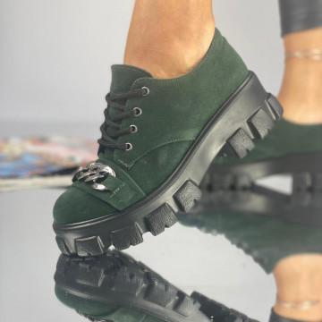 Pantofi Dama Casual Lira Verzi