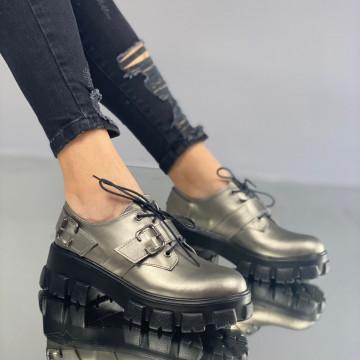 Pantofi Dama Casual Ludmila Gri