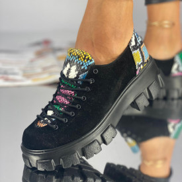 Pantofi Dama Casual Mila Multicolor