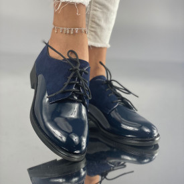 Pantofi Dama Casual Mola Bleumarin
