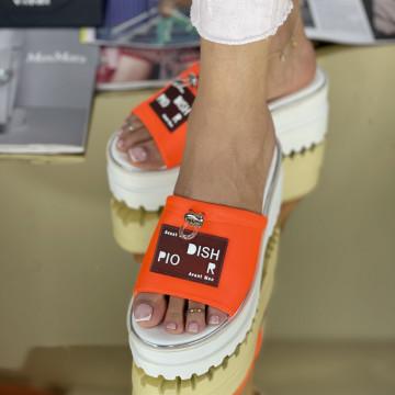 Papuci Merva Oranj