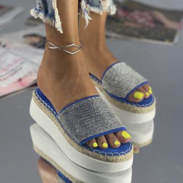 Papuci Sedon Albastrii