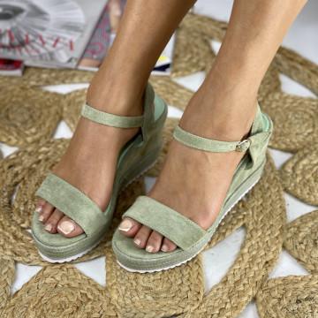 Sandale cu Platforma Teodora Verzi