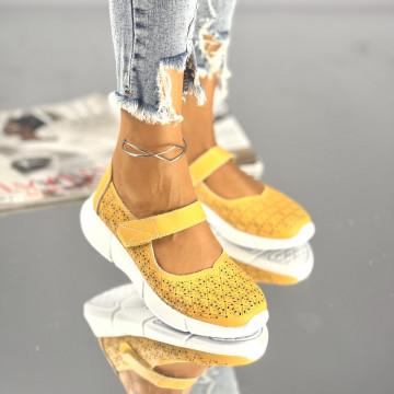 Sandale Posira Galbene