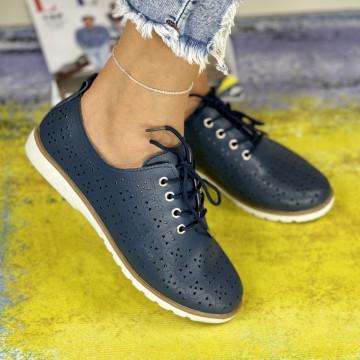 Pantofi Casual Dora Bleumarin