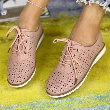 Pantofi Casual Dora Roz