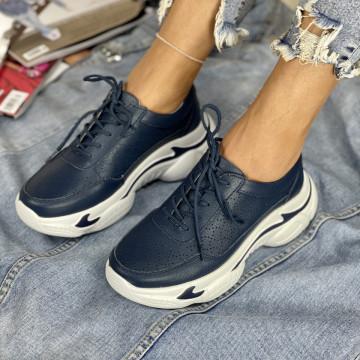 Pantofi Casual Mekona Bleumarin