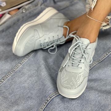 Pantofi Casual Menora Albastrii
