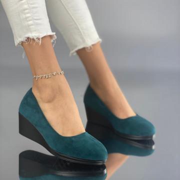 Pantofi cu Platforma Mamia Verzi