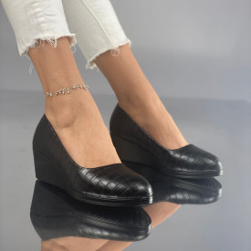 Pantofi cu Platforma Meloda Negri
